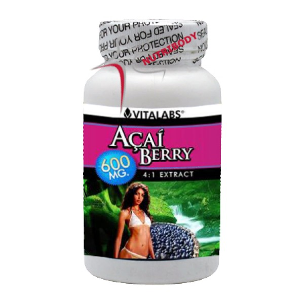 Açaí Berry - 60 cápsulas - Embalagem