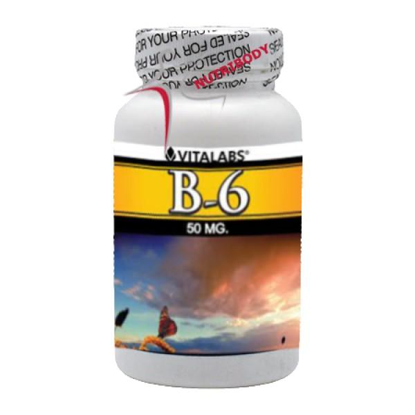 Vitamina B6 - 100 cápsulas 2