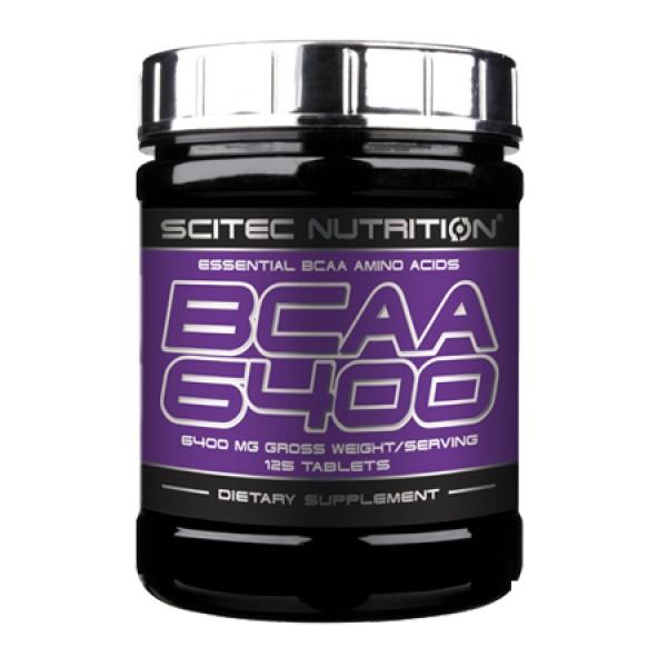 BCAA 6400 - 125 comprimidos