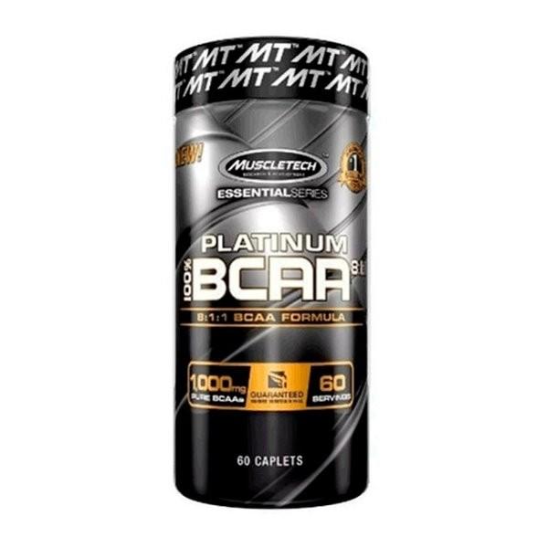 100% BCAA Platimum 8-1-1 - 60 MuscleTech