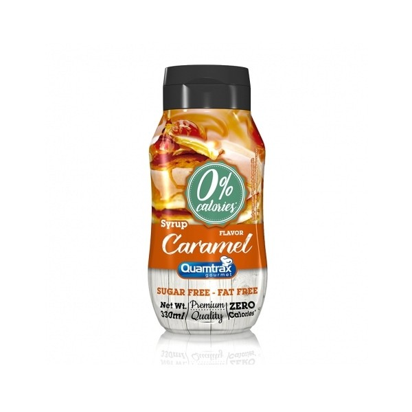 Syrup Caramelo Quamtrax Gourmet - 330ml