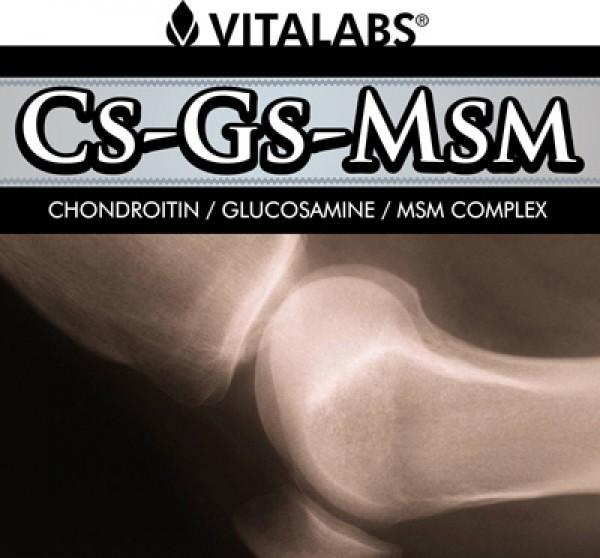CS-GS-MSM - 200 cápsulas - 1