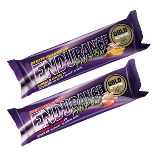 Endurance Fruit Bar 7 x 40g + 1 Grátis Gold Nutrition