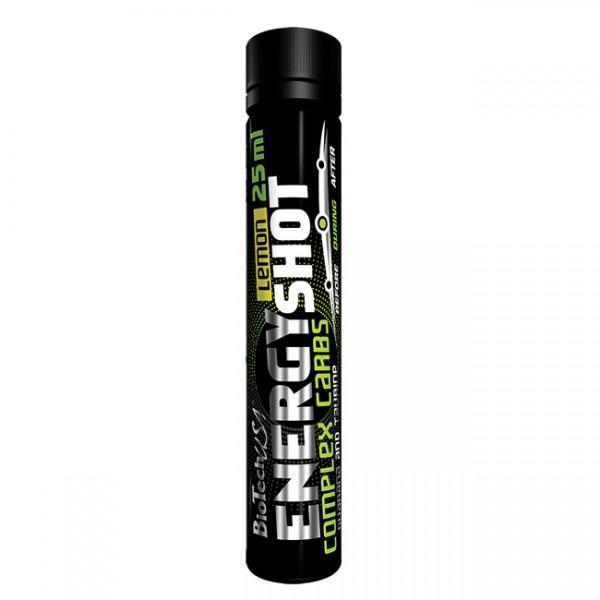 Energy Shot - 9 x 25ml + 1 Grátis BioTech 2