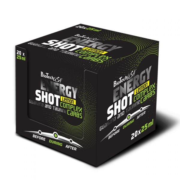 Energy Shot 25ml BioTech 2