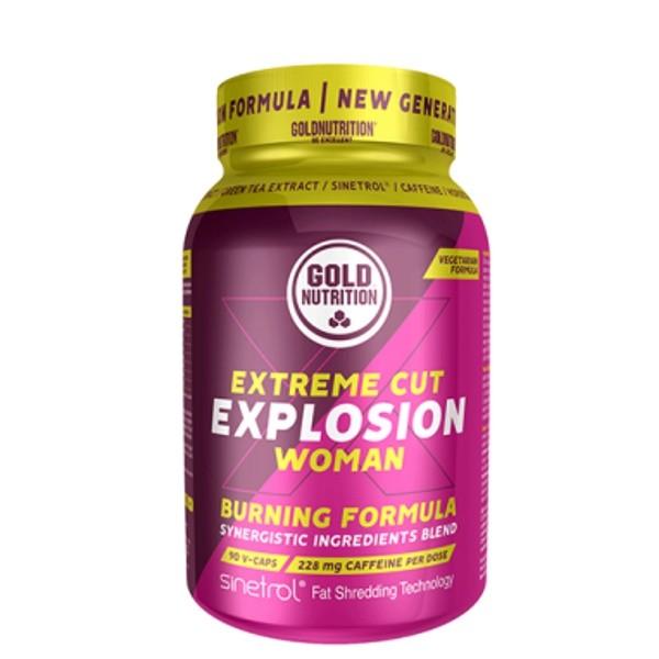 Extreme Cut Explosion Woman - 90 cápsulas Gold Nutrition