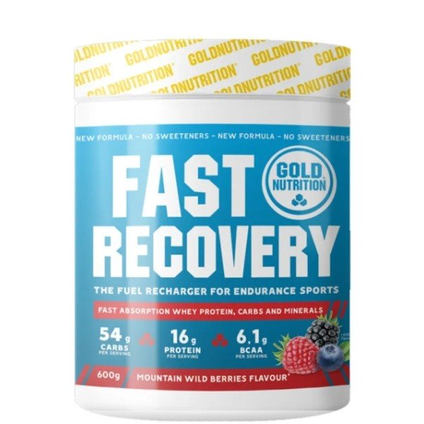 Fast Recovery 600g   Gold Nutrition - NutriBody