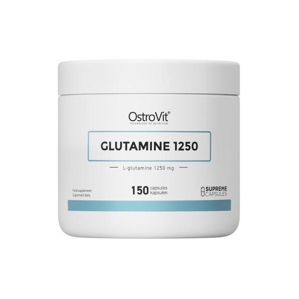Glutamine 1250 - 150 Caps Ostrovit