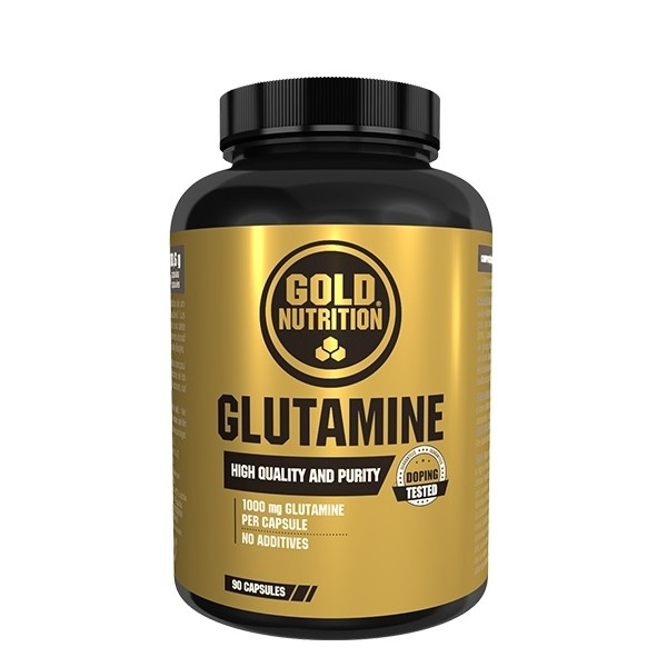 Glutamine - 90 cápsulas - Gold Nutrition