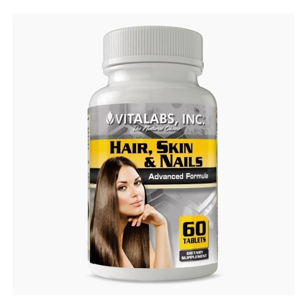 Hair, Skin & Nails - 60 comprimidos Vitalabs - Grátis com Nutri-Points