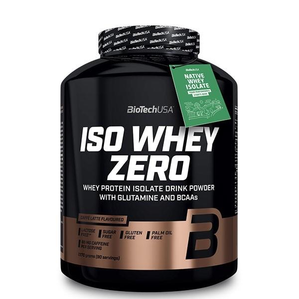 Iso Whey Zero 2,27Kg Biotech Proteína Isolada Caffe Latte