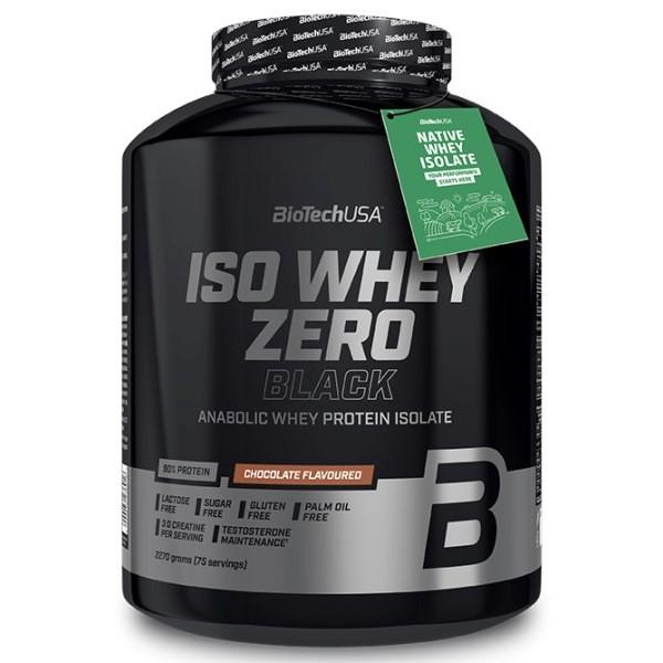 Iso Whey Zero Black 2,27Kg Biotech Proteína Isolada Anabolica