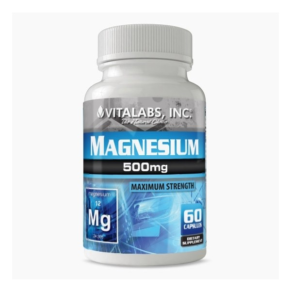 Magnesium 60 caps Vitalabs