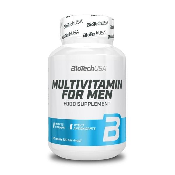Multivitamin for Men 60 Comp BioTech