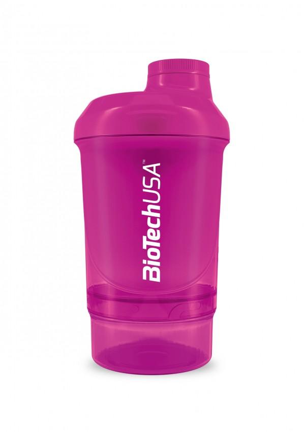 Smart Shaker Rosa 300+100ml Biotech