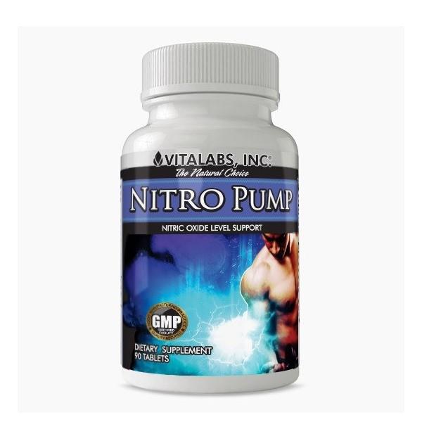 NITRO PUMP - 90 Comprimidos - VITALABS