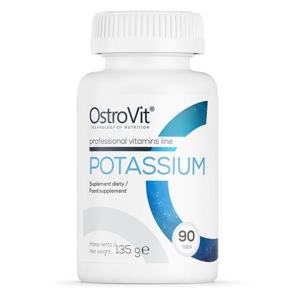 Potassium - 90 comprimidos   Ostrovit - Comprar na NutriBody