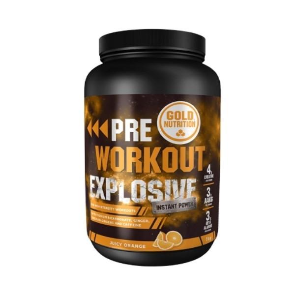 Pre-Workout Explosive - 1Kg Gold Nutrition
