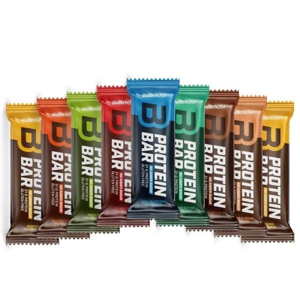 Protein Bar Biotech - Pack 10 x 70g - Imbatíveis NutriBody