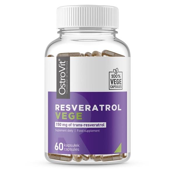 Resveratrol - 60 Vegecaps x 150mg Ostrovit NutriBody
