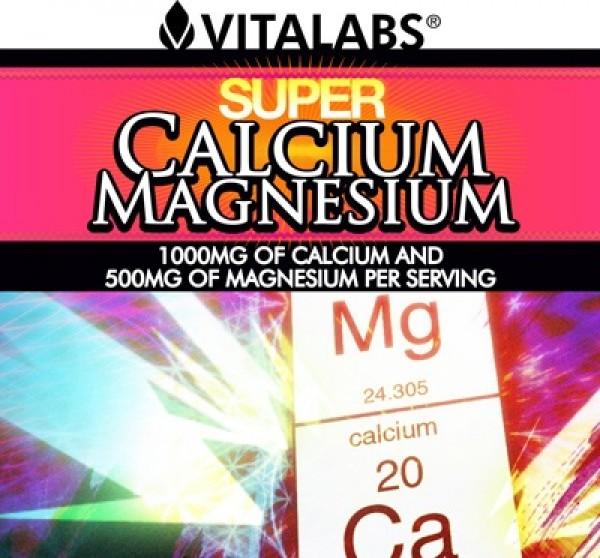 Super Calcium & Magnesium 100 Comp Vitalabs 2