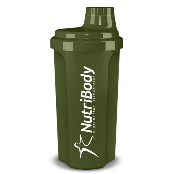 """Shaker NutriBody """"Military"""" - 500ml"""