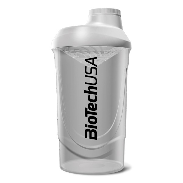 Shaker Wave Branco 600ml Biotech USA