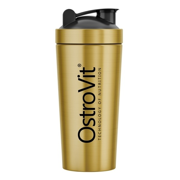 Shaker Steel Gold 750ml Ostrovit