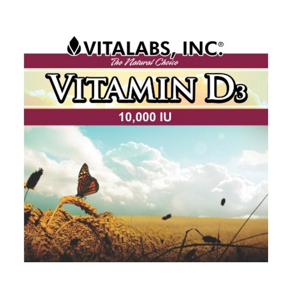 Vitamina D3 1000UI 90 Softgels Vitalabs