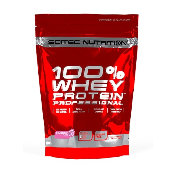 100% Whey Professional - 500g Scitec Nutrition - NutriBody