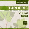 Turmeric Vitalabs 60 Label