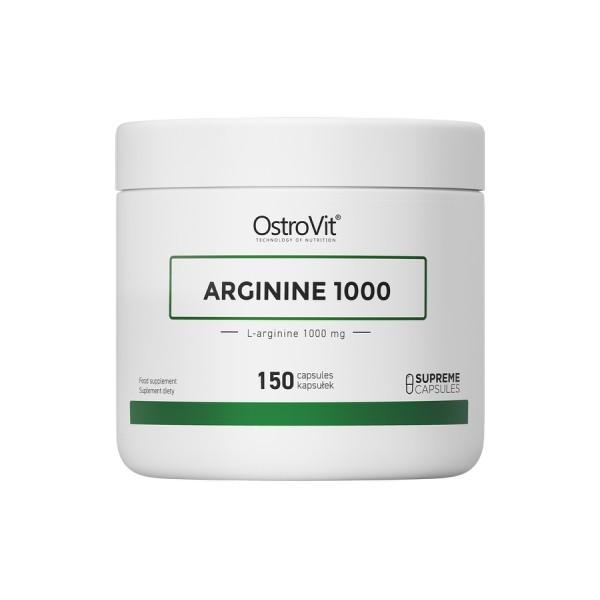 Arginine1000 - 150 caps x 100mg Ostrovit