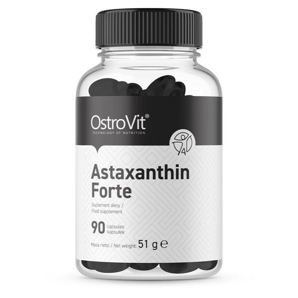 Astaxanthin Forte (80mg x 5% = 4mg) - 90 x Softgels Ostrovit