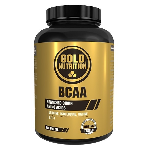 BCAA's - 180 Comp - Gold Nutrition