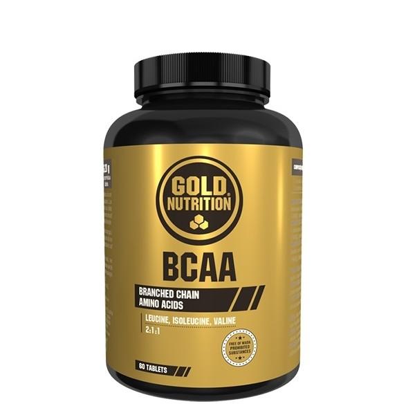 BCAA's - 120 comprimidos - Gold Nutrition