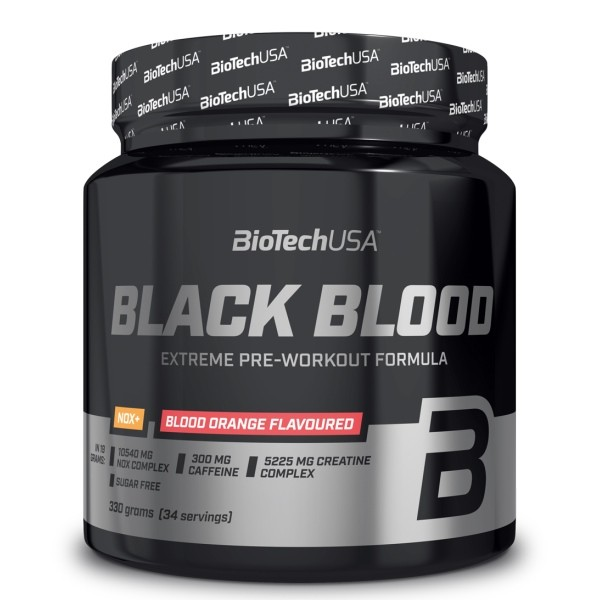 Black Blood NOX+ - 330g Biotech USA