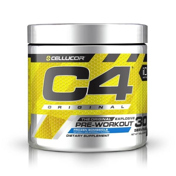 C4 Pre-Workout Original Explosive - 195g (30 Servings) Cellucor