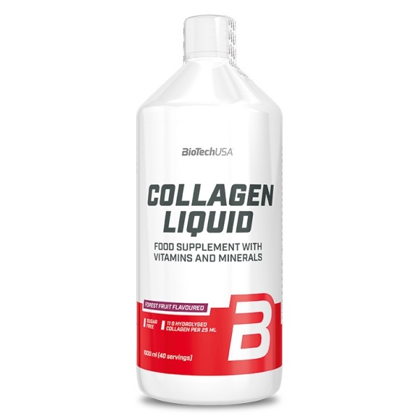 Liquid Collagen 1000ml Biotech - Comprar na NutriBody