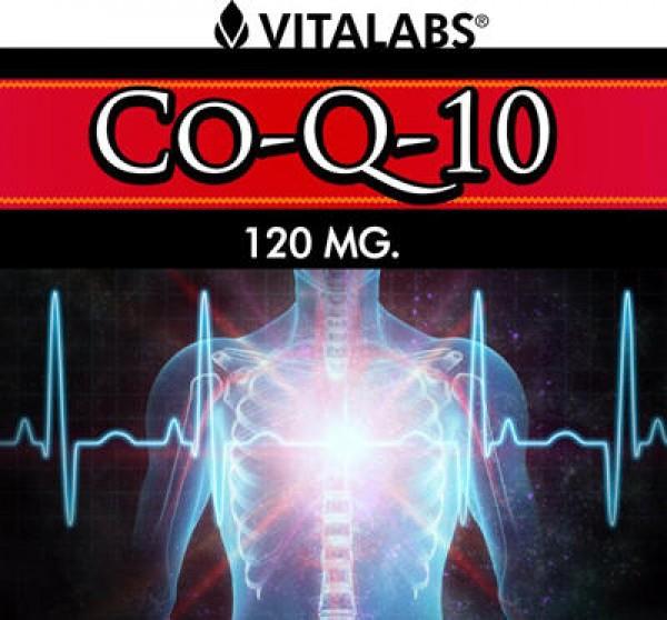 Coenzima Q-10 - 60 sofgels de 120mg - Label