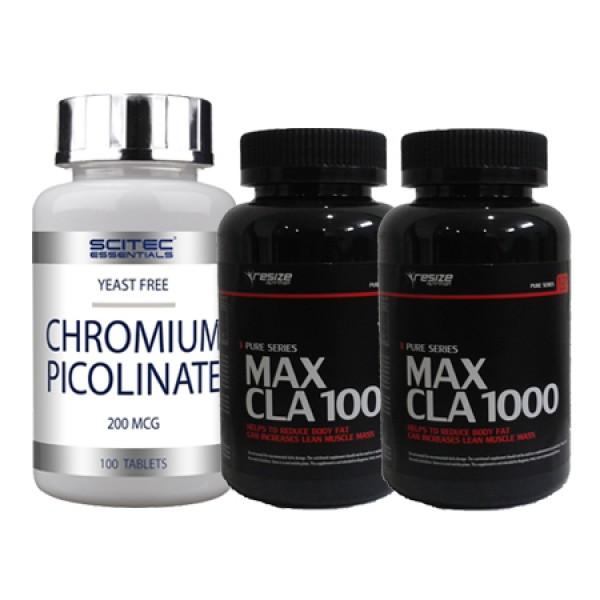 Max CLA e Chromium Picolinate