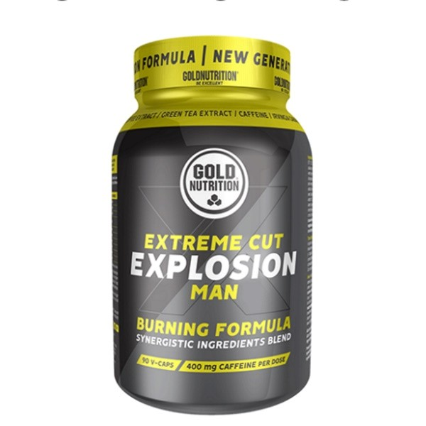 Extreme Cut Explosion Man - 120 cápsulas