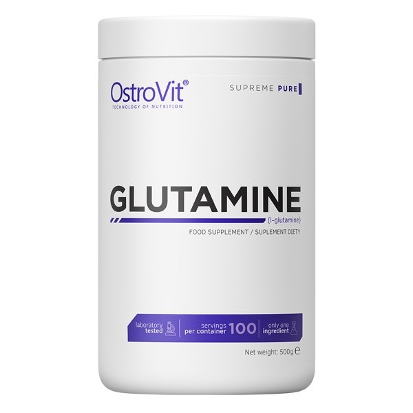 Glutamine Supreme Pure - 500g Ostrovit