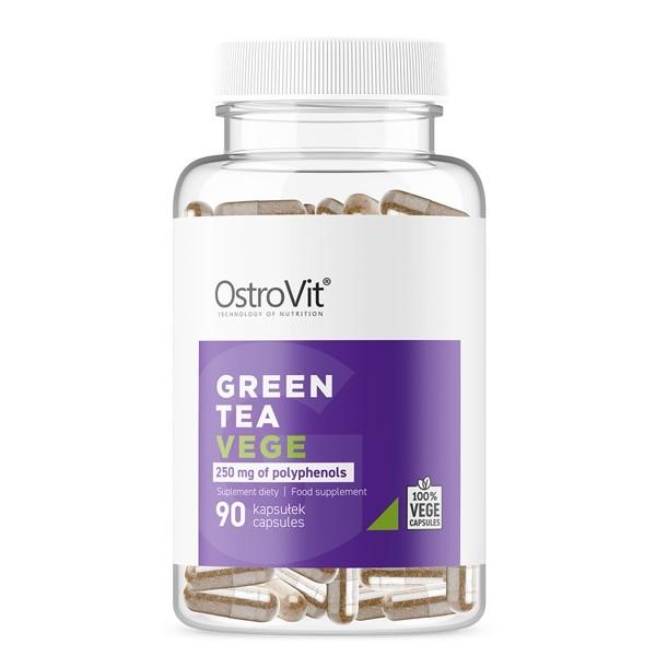 Green Tea (Té Verde) - 90 vegecaps x 500mg