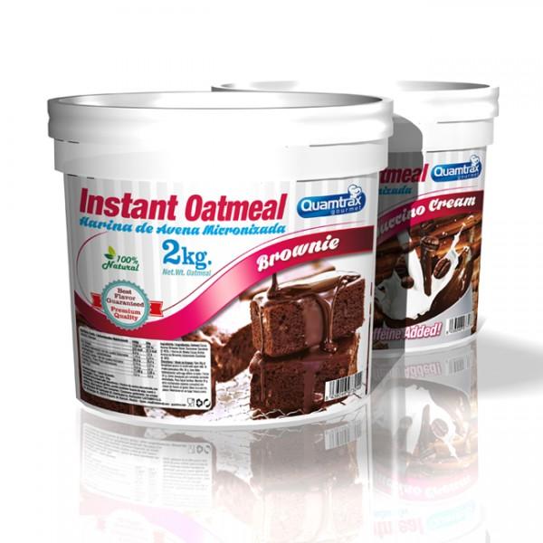 Instant Oatmeal 2Kg (Farinha de Aveia) Quamtrax 2