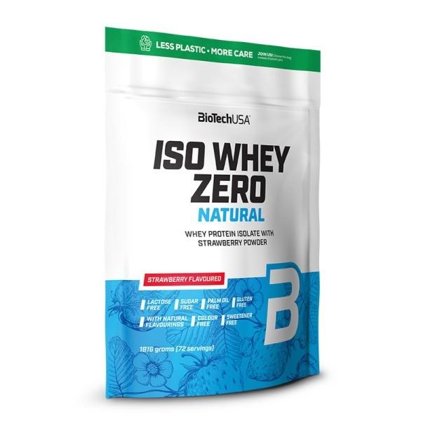 Iso Whey Zero Natural 1816g Biotech USA
