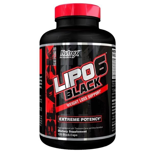 Lipo 6 Black 120 Caps Nutrex