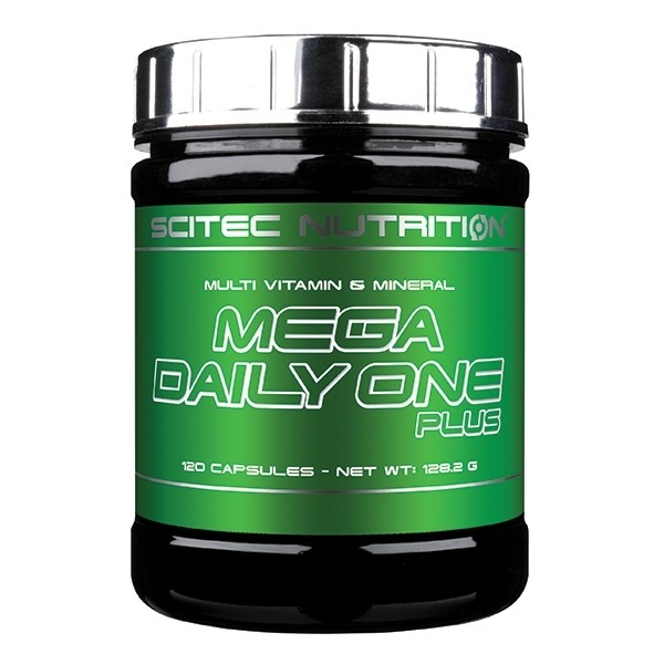 Mega Daily One Plus 120 caps Scitec