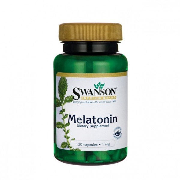 Melatonin 1mg 120 caps Swanson