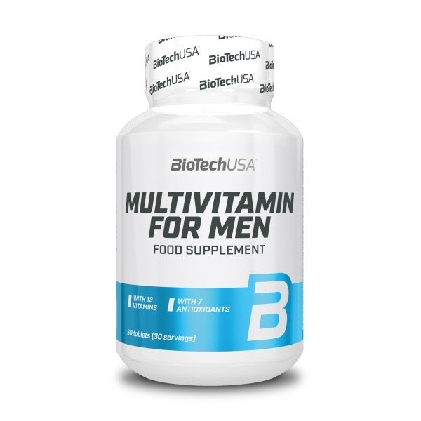Multivitamin for Men 60 Comp BioTech