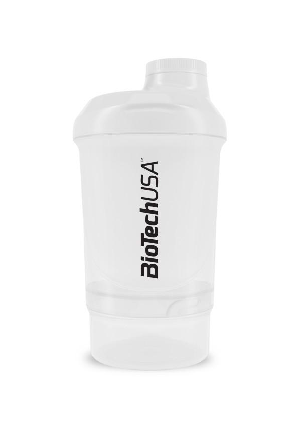 Smart Shaker Branco 300+100ml Biotech
